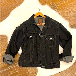 Black old school GAP denim jacket